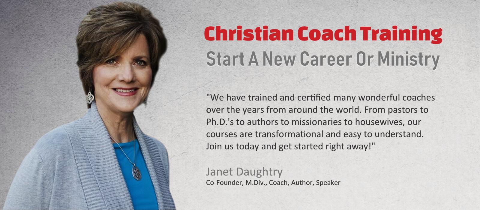 Christian Life Coach Course